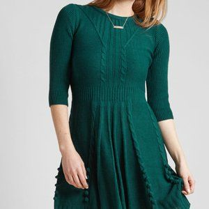❤ Newly Added: Sweater Dress in Forest